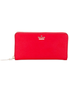 logo zip around wallet Kate Spade