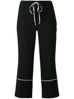 шелковистые брюки на завязках LAutre Chose