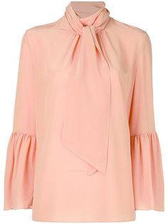 блузка с расклешенными рукавами Fendi