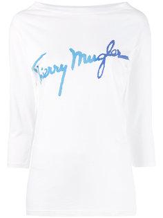 logo T-shirt  Thierry Mugler Vintage
