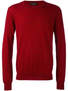 свитер в тонкую полоску Alexander McQueen