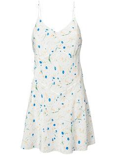 платье с цветочным принтом Lemaire