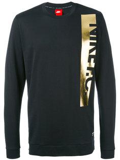 F.C. metallic logo sweatshirt Nike