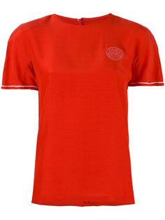 embroidered logo T-shirt Louis Feraud Vintage