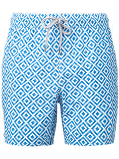 printed pattern swim shorts  Capricode
