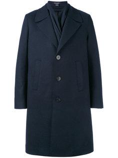 пальто с воротником-шалькой Neil Barrett