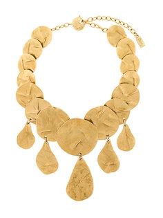 Dramatic Hammered necklace Yves Saint Laurent Vintage