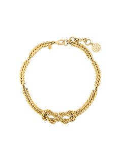 knot necklace Louis Feraud Vintage