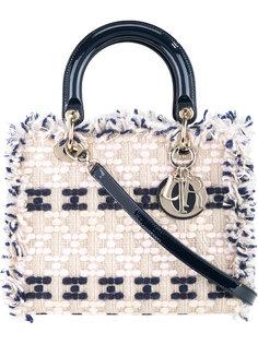 Lady Dior Tweed 2-Way handbag Christian Dior Vintage