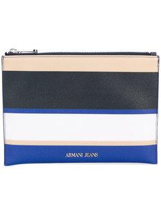 полосатый кошелек Armani Jeans