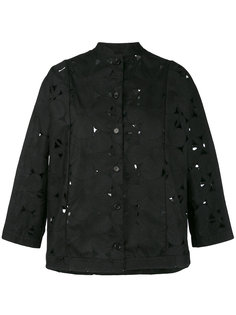 perforated detail jacket  Aspesi