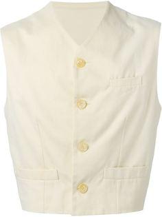 приталенный жилет  Dolce & Gabbana Vintage