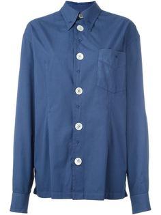 рубашка с вышивкой Dolce & Gabbana Vintage