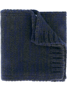 шарф ребристой вязки Salvatore Ferragamo