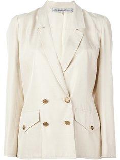 двубортный пиджак Jean Louis Scherrer Vintage