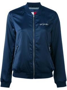 куртка-бомбер с вышивкой логотипа Tommy Jeans