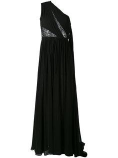 one shoulder evening dress  Elie Saab