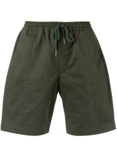 drawstring bermuda shorts Egrey