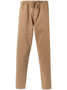 straight trousers Egrey