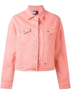 джинсовая куртка с нагрудными карманами Tommy Jeans