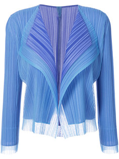 flutter tulle cardigan  Pleats Please By Issey Miyake