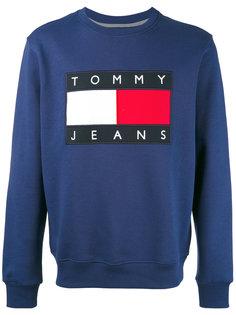 толстовка с нашивкой логотипа Tommy Jeans