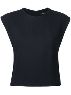 cropped tank top Bassike