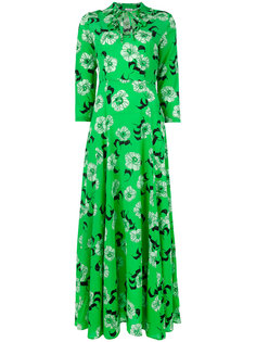 длинное платье с цветочным принтом P.A.R.O.S.H.