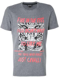 футболка с принтом Just Cavalli