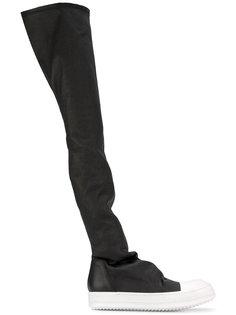 облегающие сапоги в спортивном стиле Rick Owens