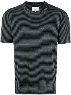 футболка в полоску Maison Margiela