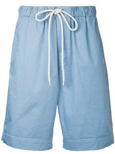 oversized drawstring shorts Bassike