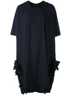 frilled pocket cocoon dress Comme Des Garçons Comme Des Garçons