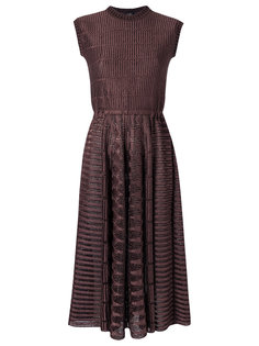 knit flared dress Gig