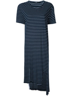 striped tail T-shirt dress Bassike