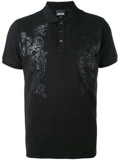 футболка-поло с принтом Just Cavalli