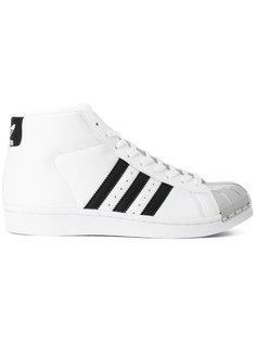 кеды с контрастным носком Adidas
