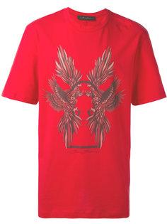 футболка с принтом птиц Bruno Bordese