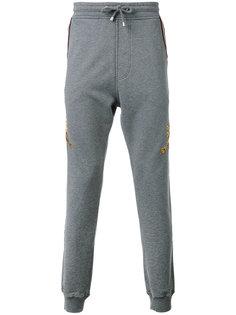 спортивные брюки с принтом тигров Just Cavalli