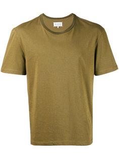 классическая однотонная футболка Maison Margiela