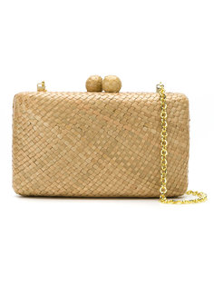 соломенная сумка-клатч Serpui