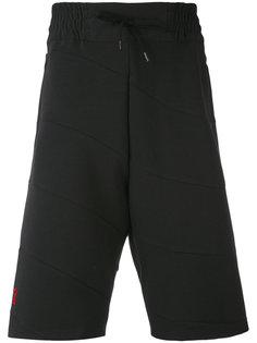 спортивные шорты с панельным дизайном Bruno Bordese