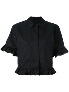 расклешенный пиджак с короткими рукавами MSGM