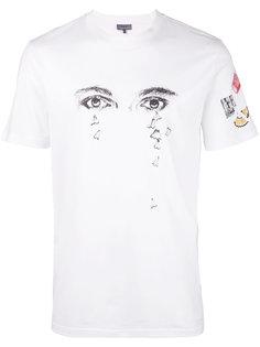 футболка с принтом глаз Lanvin