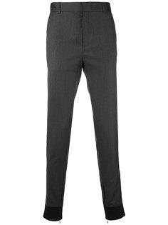 зауженные брюки с манжетами на молнии Lanvin