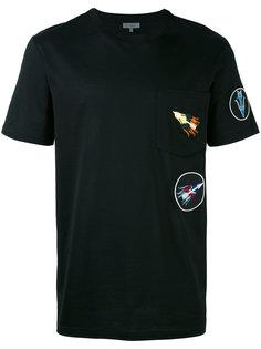 футболка с нашивками Lanvin