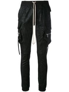 спортивные брюки карго Rick Owens