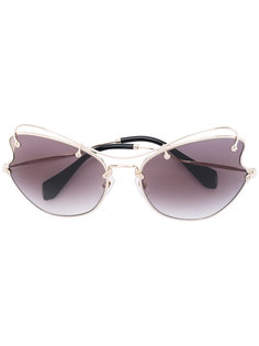 cat eye sunglasses  Miu Miu Eyewear
