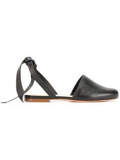 сандалии с завязками Alexandre Birman