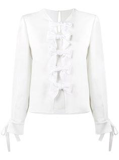 блузка с бантами Fendi